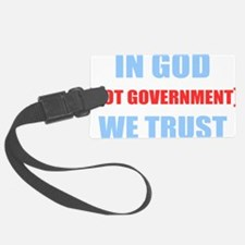 In-God-Not-Gov-(dark-shirt) Luggage Tag