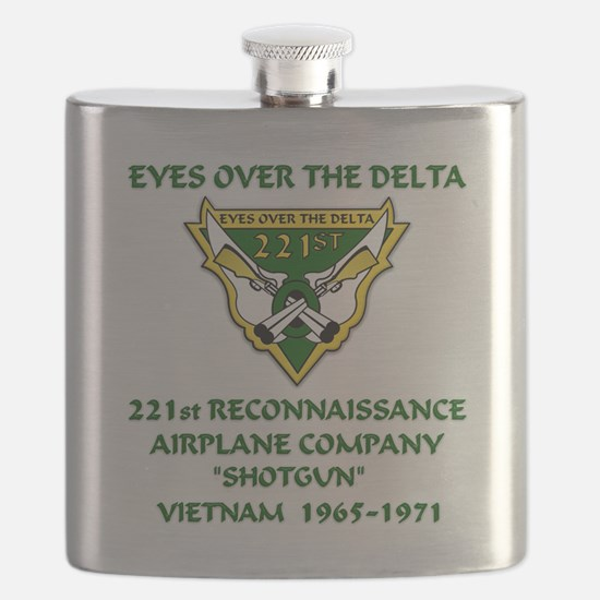 Eyes-Over-The-Delta Flask