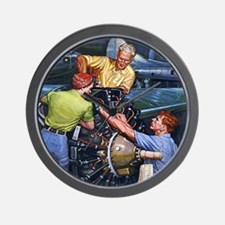 Mechanics Wall Clock