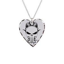 punish Necklace Heart Charm