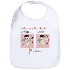 Valentines Day Stinks! Bib