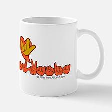 PAstateFlagILYbs Mug