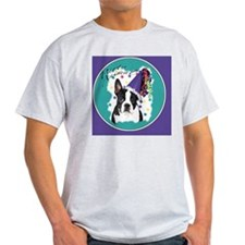 boston terrier party animal clock or T-Shirt