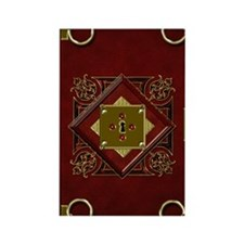 2-red-book-of-rings Rectangle Magnet