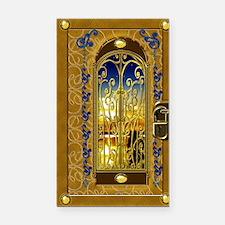 2-golden-sky-book Rectangle Car Magnet