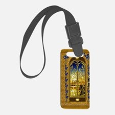 2-golden-sky-book Luggage Tag