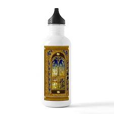 2-golden-sky-book Water Bottle