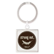 Strung Out Square Keychain