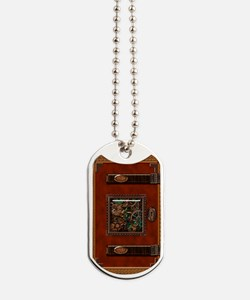 orange book Dog Tags