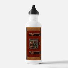 orange book Water Bottle