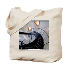 Z-08-Stairs-LighthouseRock Tote Bag