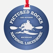 Pictured Rocks (rd) Ornament