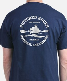Pictured Rocks (rd) T-Shirt