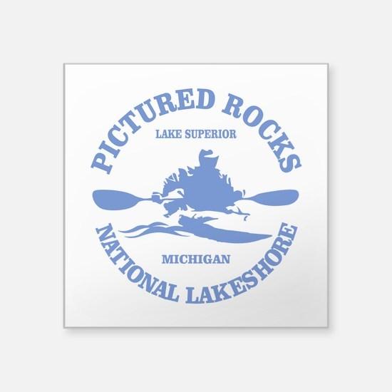 Pictured Rocks (rd) Sticker