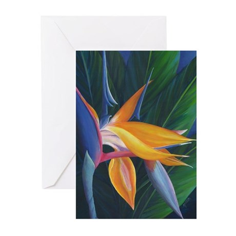 Bird of Paradise Note Cards (Pk of 10)