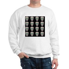 Day Of The Dead Sugar Skull Sweatshirt