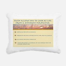 Feaith Allows 2 Rectangular Canvas Pillow