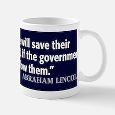 Lincoln Quote Government Mug