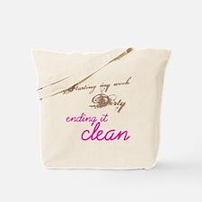 clean_dirty8x8_apparel Tote Bag