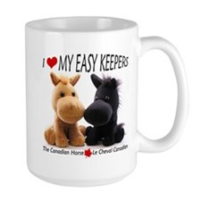 """I Love My Easy Keepers"" Mug"