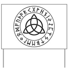 Triquetra Rune Shield.png Yard Sign