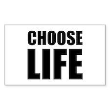 Choose Life Decal