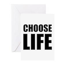 Choose Life Greeting Cards