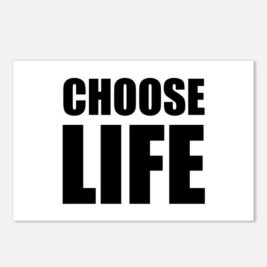 Choose Life Postcards (Package of 8)