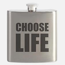 Choose Life Flask