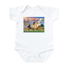 Cloud Star & Buckskin horse Infant Bodysuit
