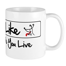 lifelikelogorectangle Mug
