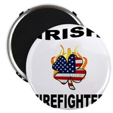 Irish Firefighter Magnet