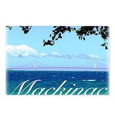 mackinac Postcards (Package of 8)