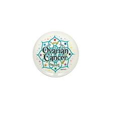 Ovarian-Cancer-Lotus Mini Button