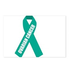 Ovarian-Cancer-Hope-blk Postcards (Package of 8)