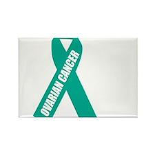 Ovarian-Cancer-Hope-blk Rectangle Magnet