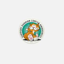 Ovarian-Cancer-Cat Mini Button