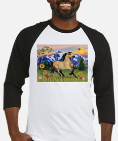 Mt. Country Buckskin Horse Baseball Jersey