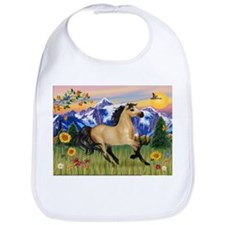 Mt. Country Buckskin Horse Bib