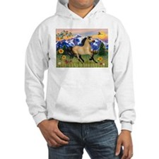 Mt. Country Buckskin Horse Hoodie