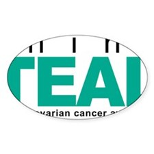 Think-TEAL-Ovarian-Cancer Decal