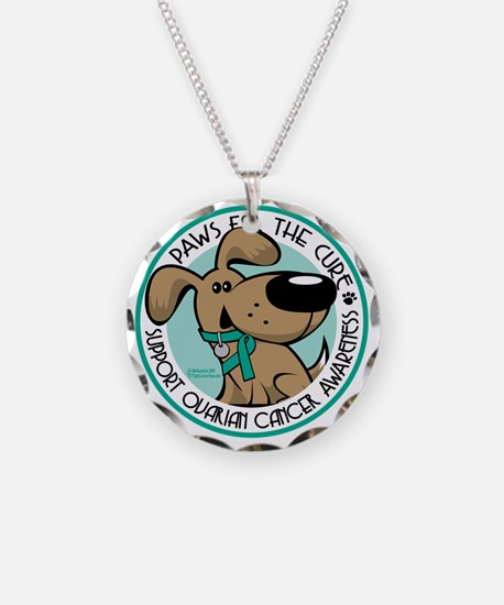 Paws-for-the-Cure-Ovarian Necklace