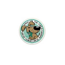 Paws-for-the-Cure-Ovarian Mini Button