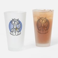 Paws-for-Psoriasis-blk Drinking Glass