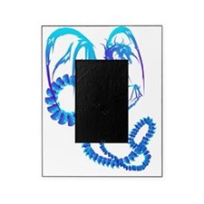 Electric Blue Dragon Trans Picture Frame