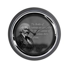fred d quote  Wall Clock