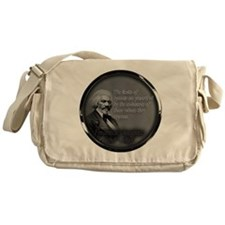 fred d quote  Messenger Bag