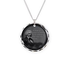 fred d quote  Necklace
