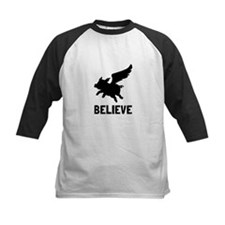 Flying Pig Believe Baseball Jersey