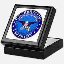 Conservative Patriot Keepsake Box
